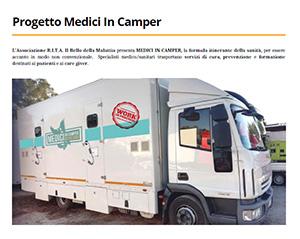 Presentazione Progetto Medici in Camper